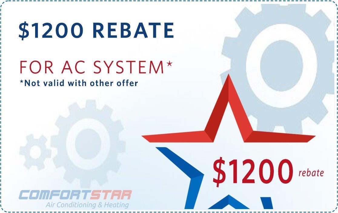 HVAC Specials - Comfort Star Emergency AC Repair