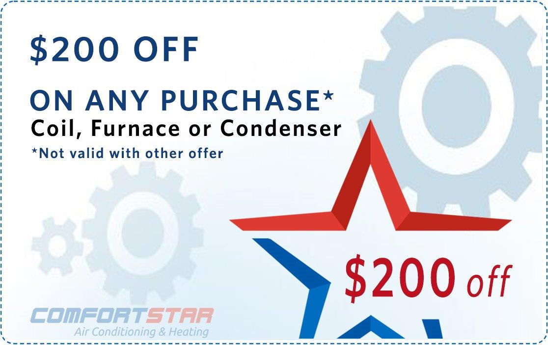 New Coil Furnace Conductor Coupon
