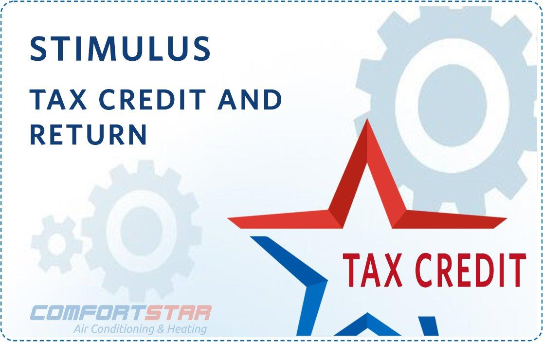 Stimulus Tax Credit and Return for AC Replacement