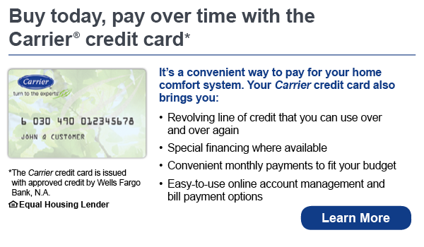 Carrier Credit Card - Wells Fargo Bank