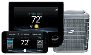 Carrier AC Thermostat System