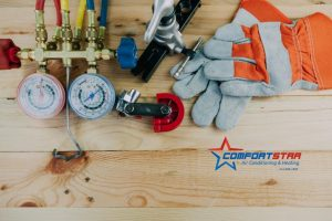 AC Tune-Ups tools ready to start taking care of Air Conditioner