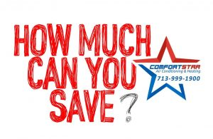 How much can be saved with AC repair