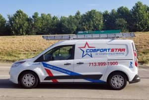 Comfort Star AC technician on the way