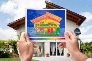 Infrared Detecting Heat Loss by Comfort Start for Insulation