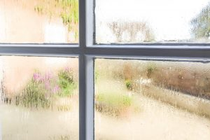 Glass windows condensation due to lack of Dehumidification System