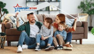 AC in top condition and happy family